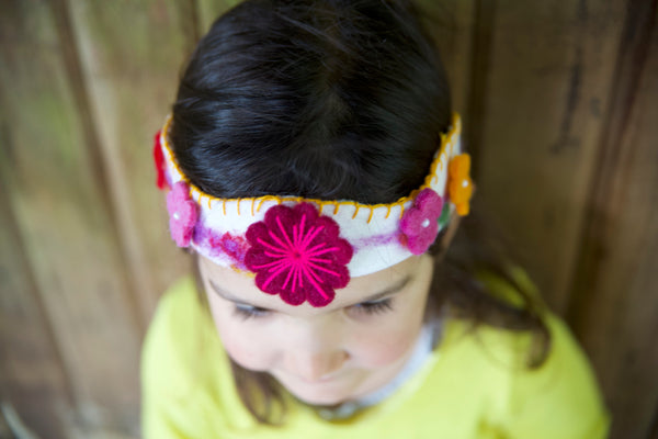 Hand Made Felt Flower Crown | Conscious Craft