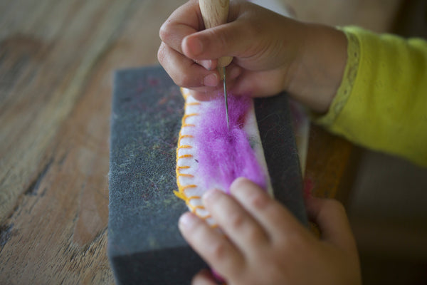 Needle Felting | Conscious Craft