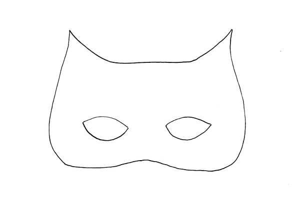 nature mask template