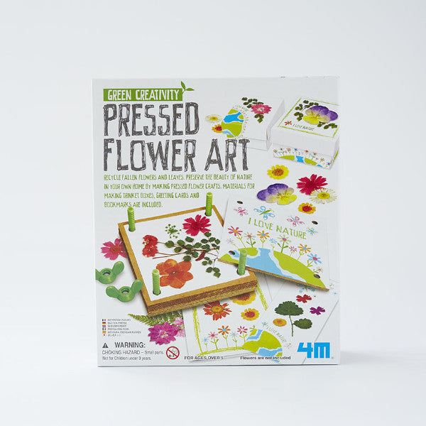 Pressed Flower Art kit from Green Creativity