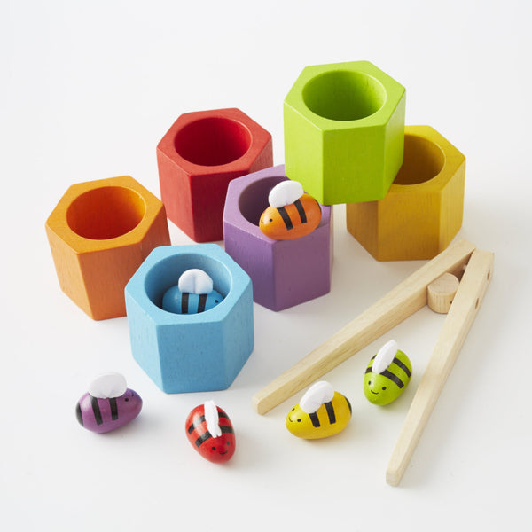 Beehives from Plan Toys