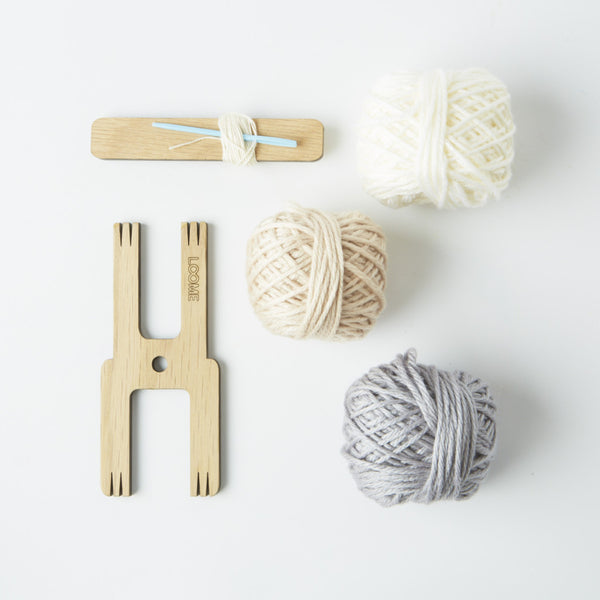 Pom pom Kit with Weave Tool from Conscious Craft