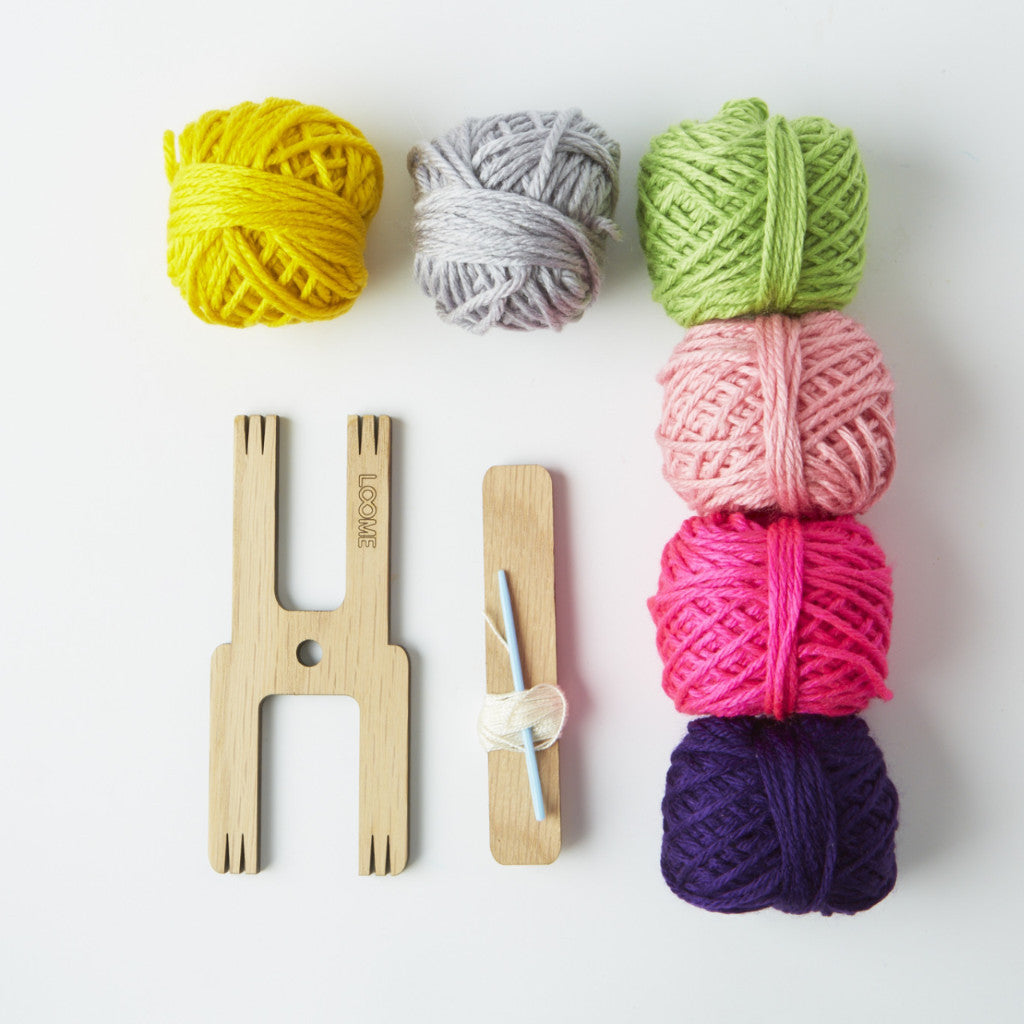 Loome Pom Pom Kit | Brights