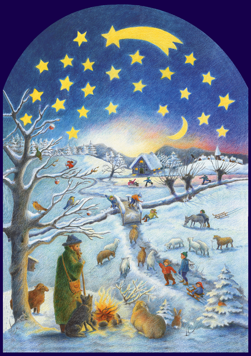 Advent Calendar | Winter Scene
