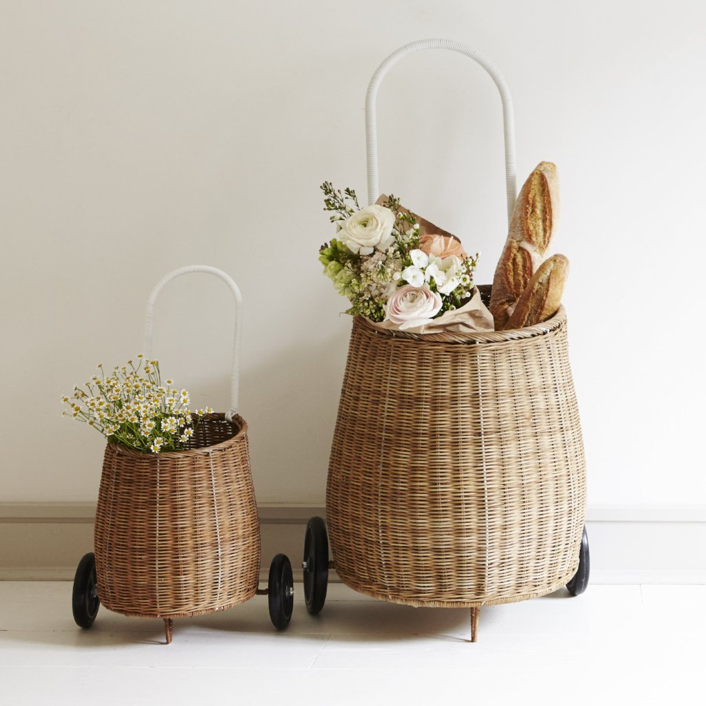 Large Luggy Basket | Natural