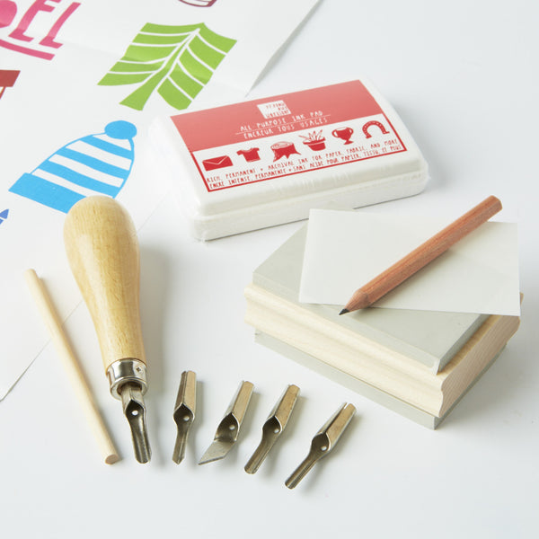 Carve A stamp - A Year of Holidays from Conscious Craft