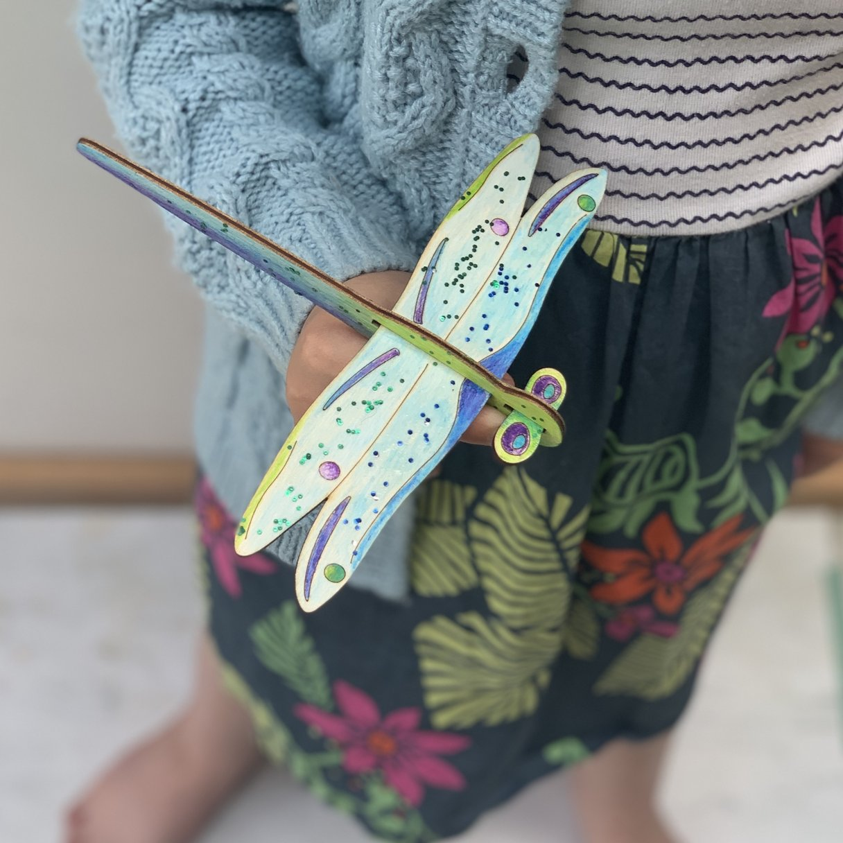 Make Your Own Dragonfly Glider Activity Box