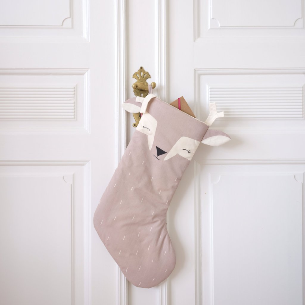 Fabelab Animal Christmas Stocking | Lovely Fawn