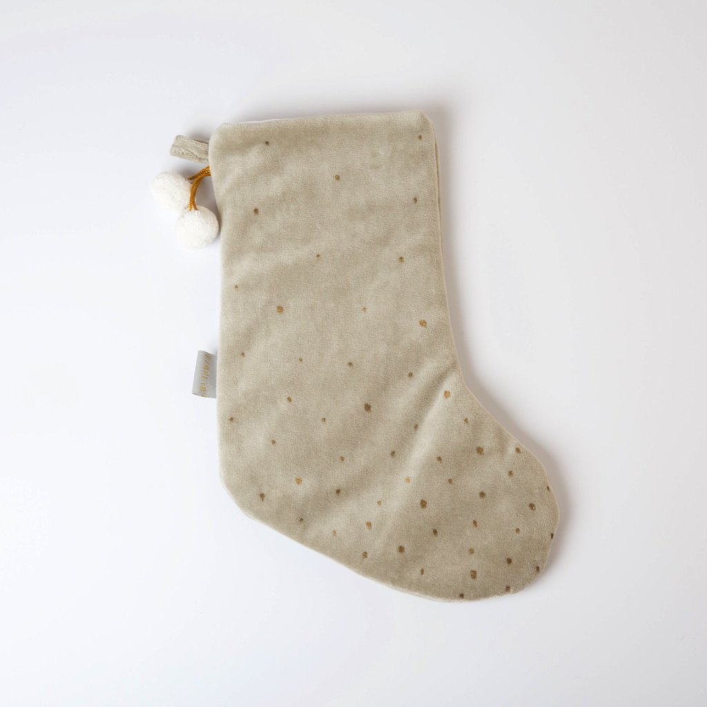 Dreamy Christmas Stocking - Light Grey