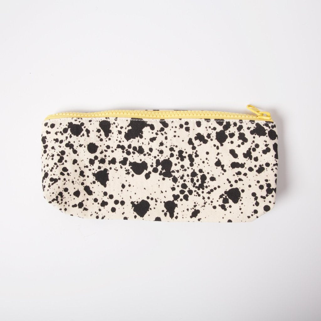 Organic Cotton Pencil Case | Splatter