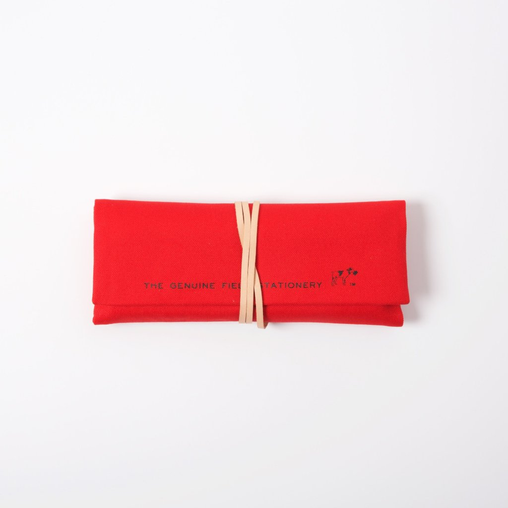 Roll Pencil Case | Red
