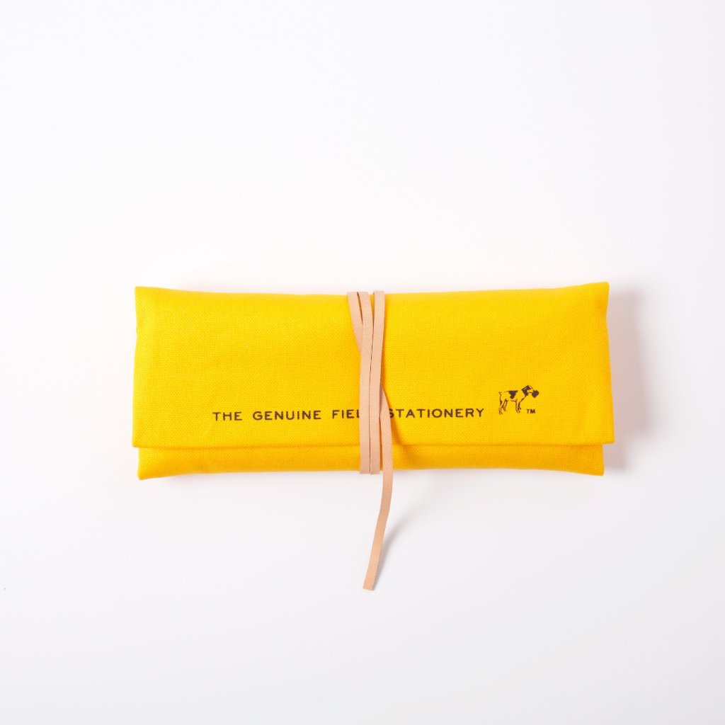 Roll Pencil Case | Yellow