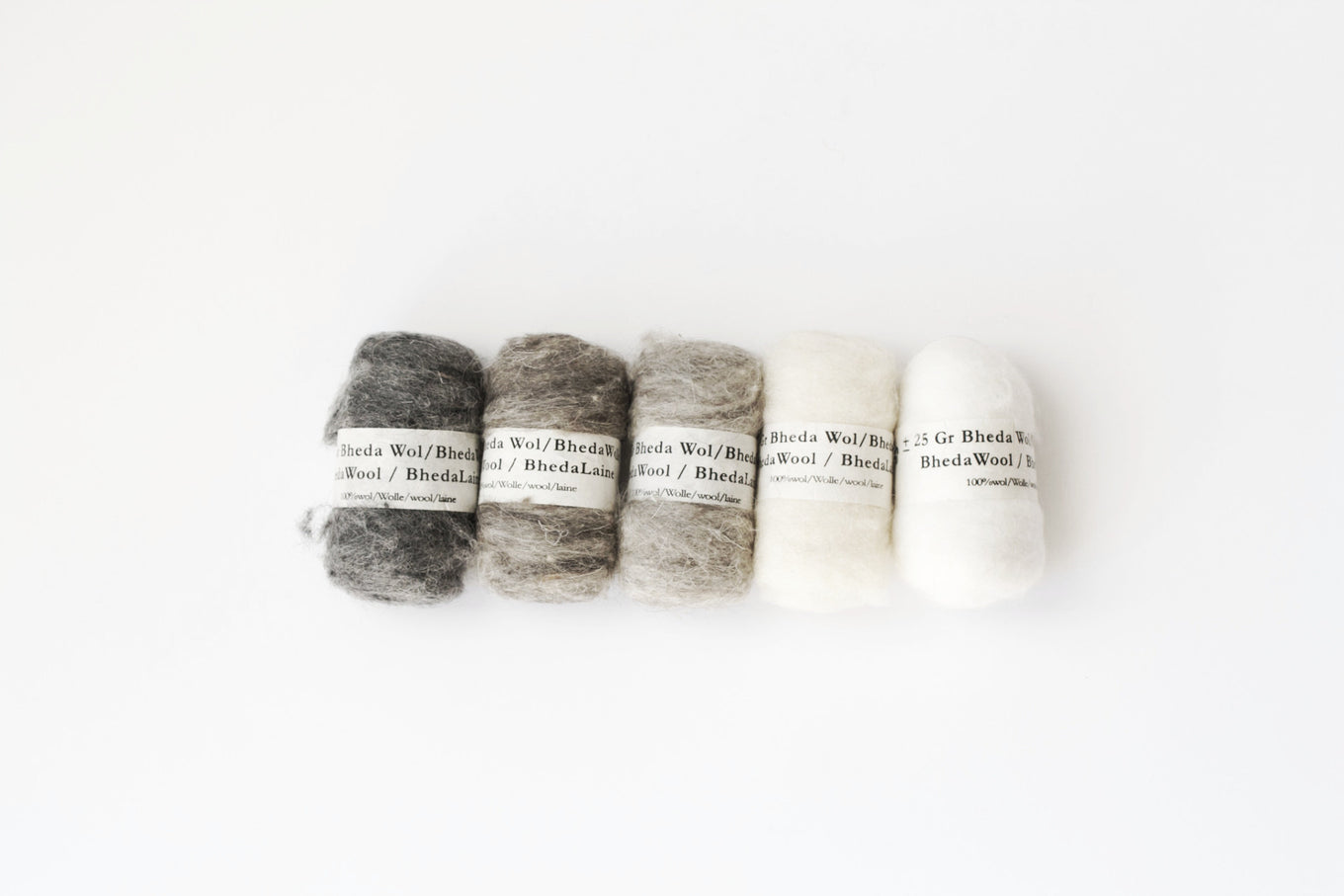 Beda Wool - Natural Shades