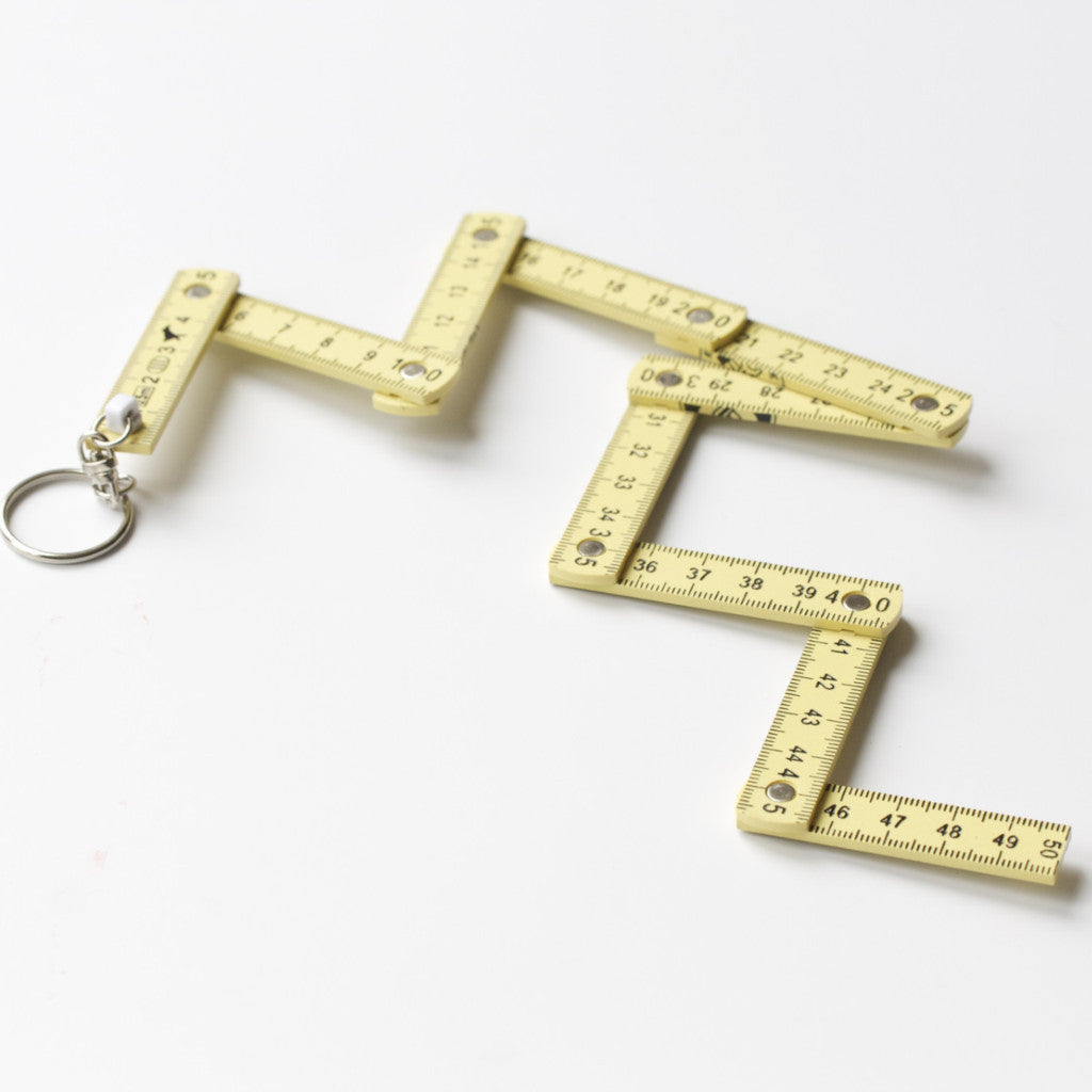 Keyring Folding Ruler