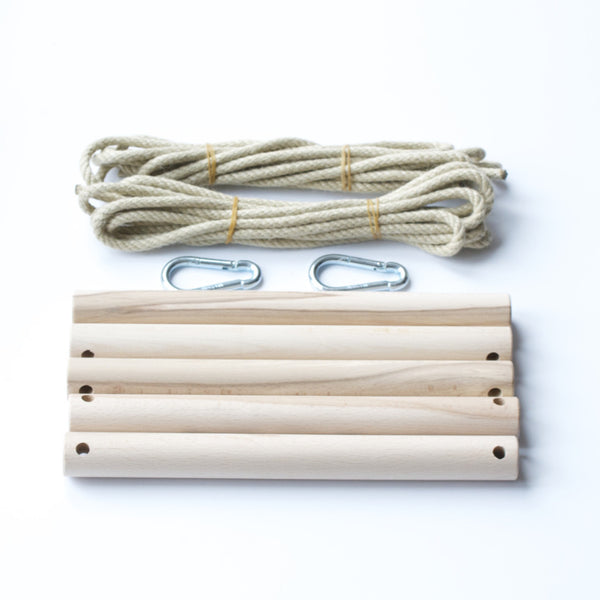 Rope Ladder, Sturdy Outdoor Wood Toy from Conscious Craft