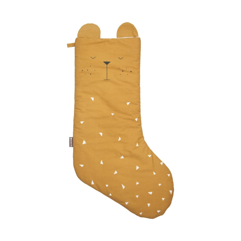 Fabelab Animal Christmas Stocking - Bear