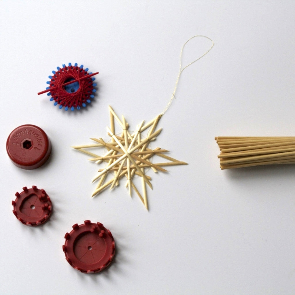 Straw Star Kit - 12 Points