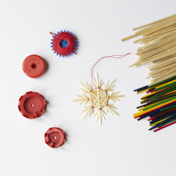 Straw Star kit for making Christmas Tree decorations - Conscious Craft