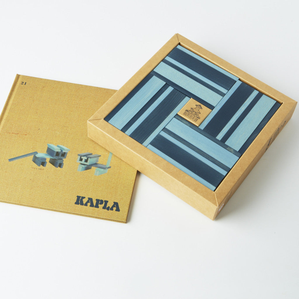 Kapla: 2 Blues with Booklet