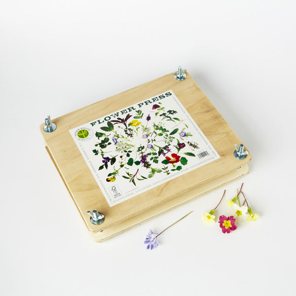 Large Wooden Flower Press from Conscious Craft