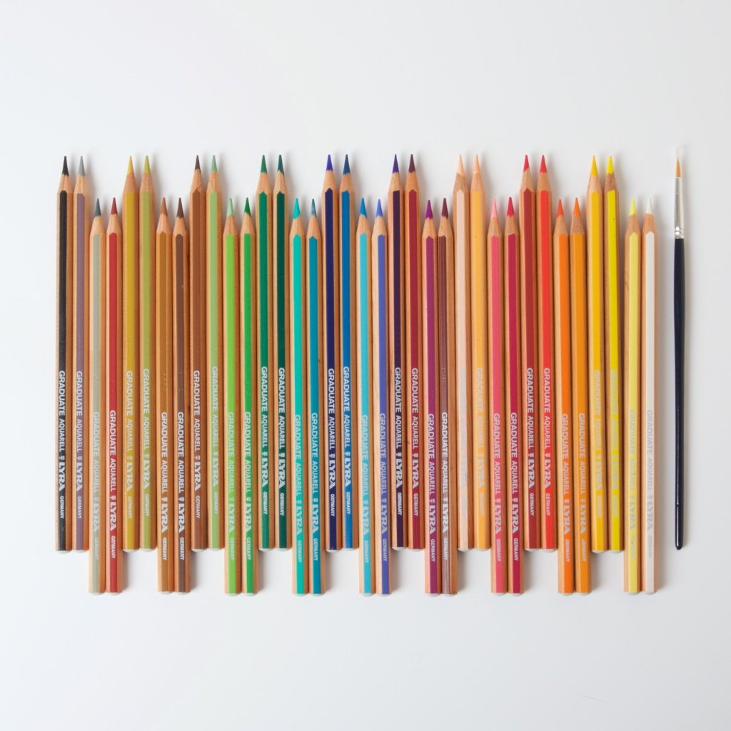 Lyra Graduate Aquarelle Coloured Pencils | 36