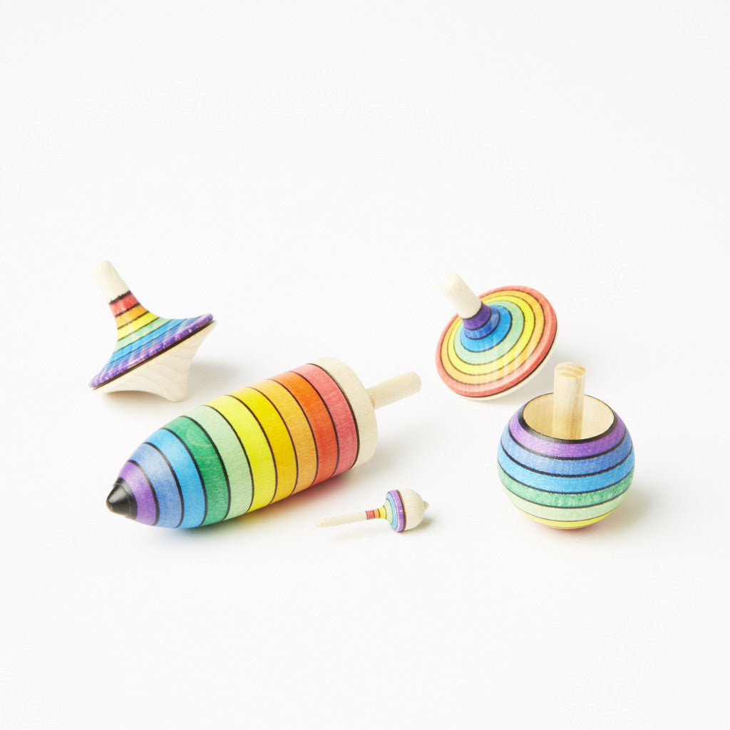 Spinning Top Set | Rainbow