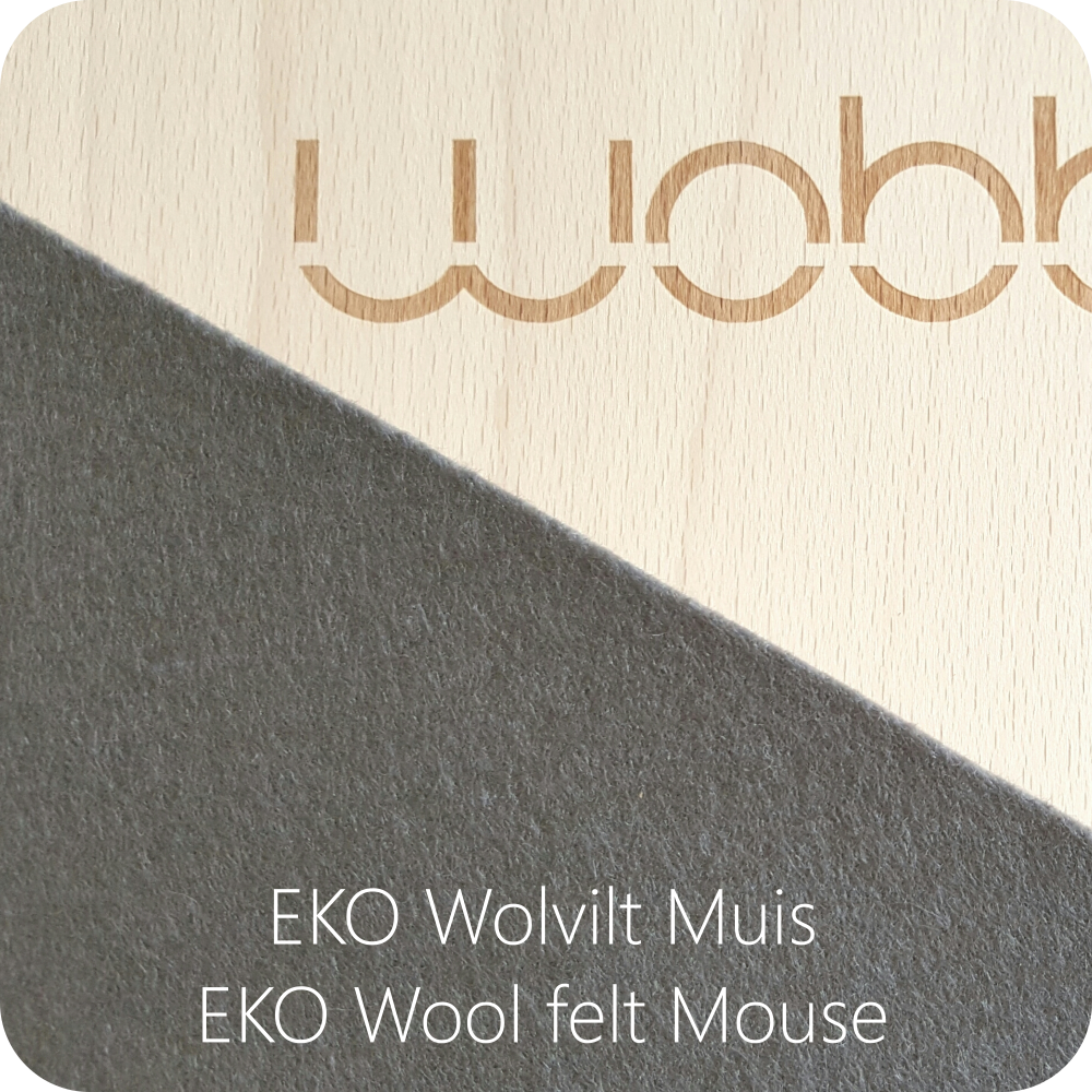 Wobbel Board with Felt