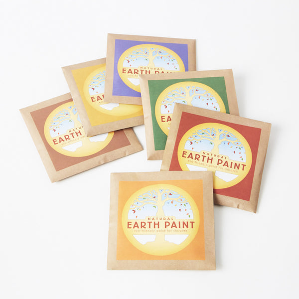 Natural Earth Paint - Vegan paint for kids
