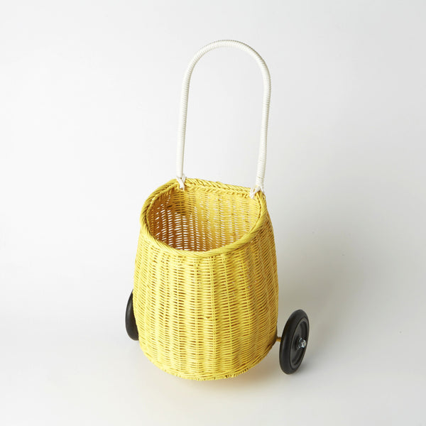Laggy Basket in Yellow By Ollie Ella