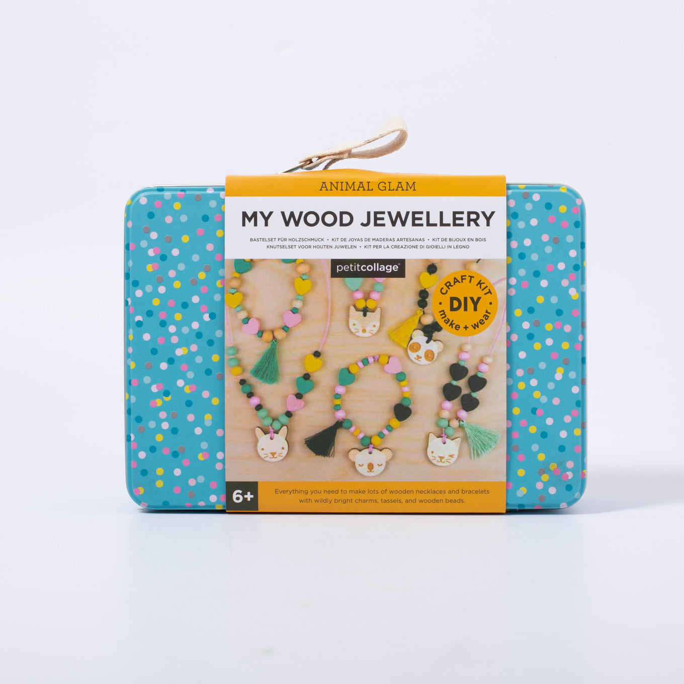 DIY Kit | My Wooden Jewellery Set