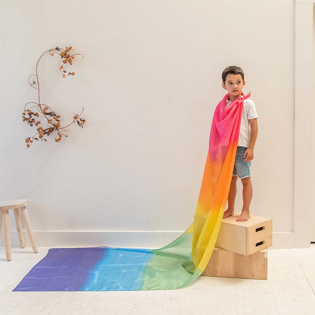 Giant Playsilks | Rainbow