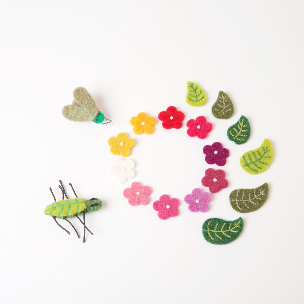 Felt Leaves Set