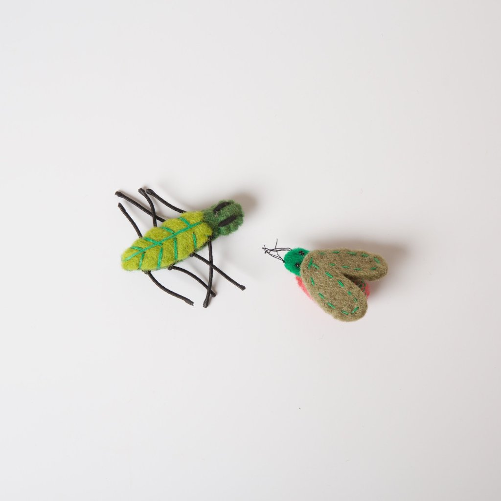 Felt Insects