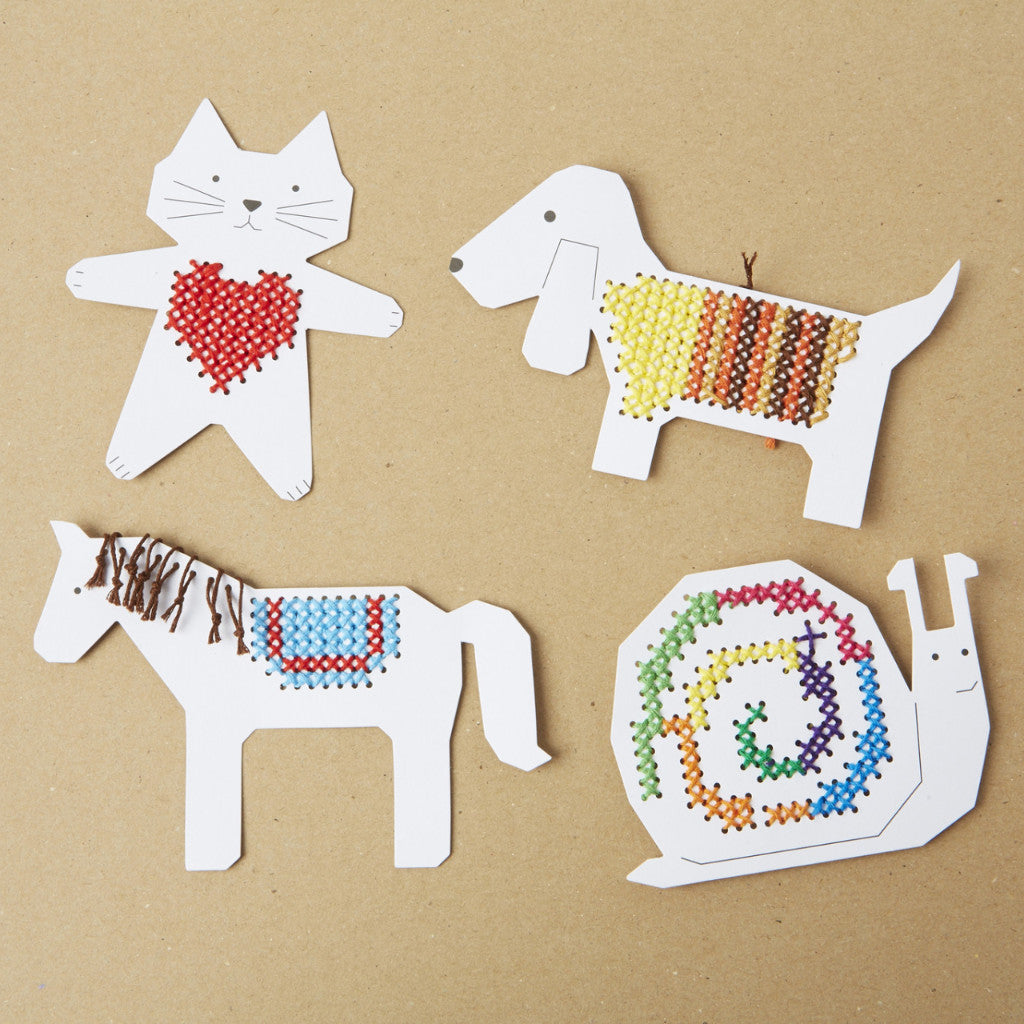 Animal Embroidery Board