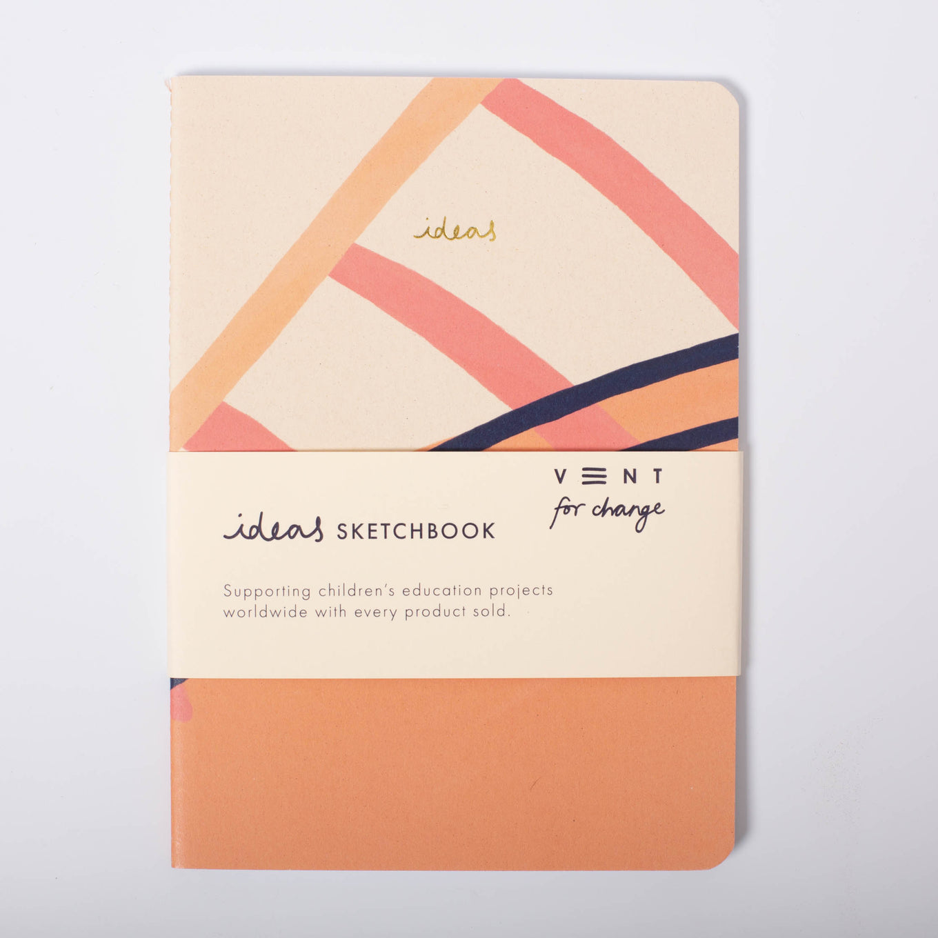 Ideas Soft Cover Notebook | Pink | Plain