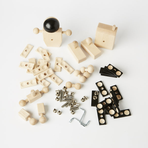 Astronaut Construction Kit from Wood with 2 allen keys