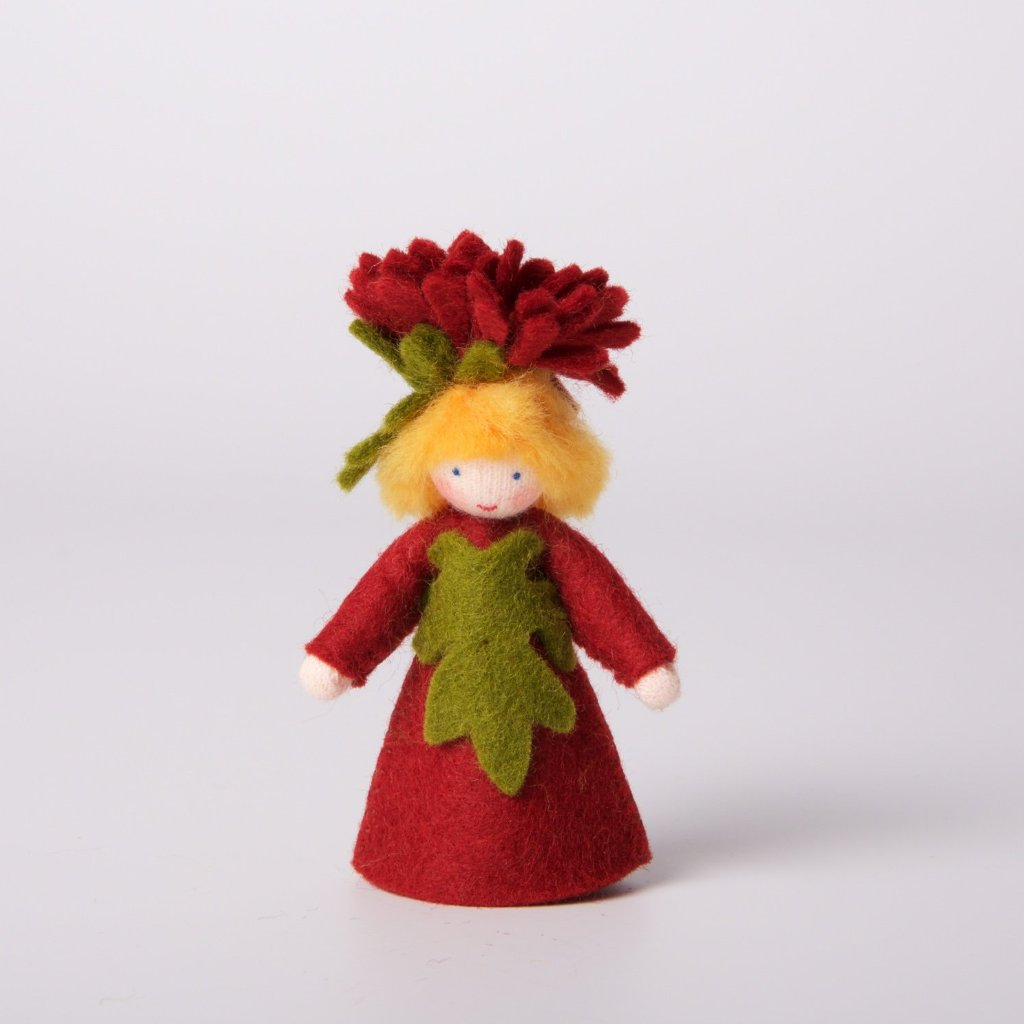 Felt Flower Fairy Michaelmas Boy | Light Skin Tone
