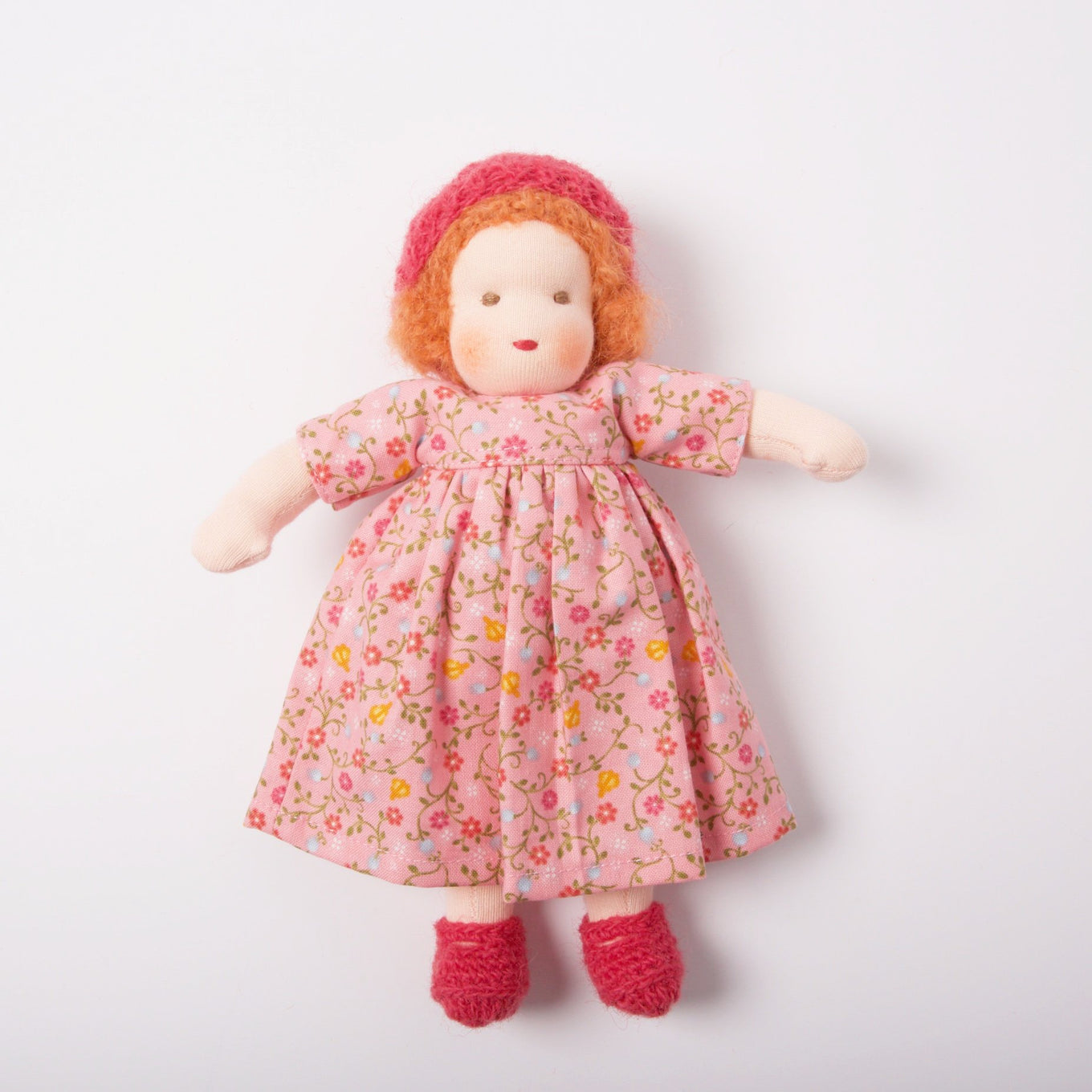 Waldorf Doll Red Hair