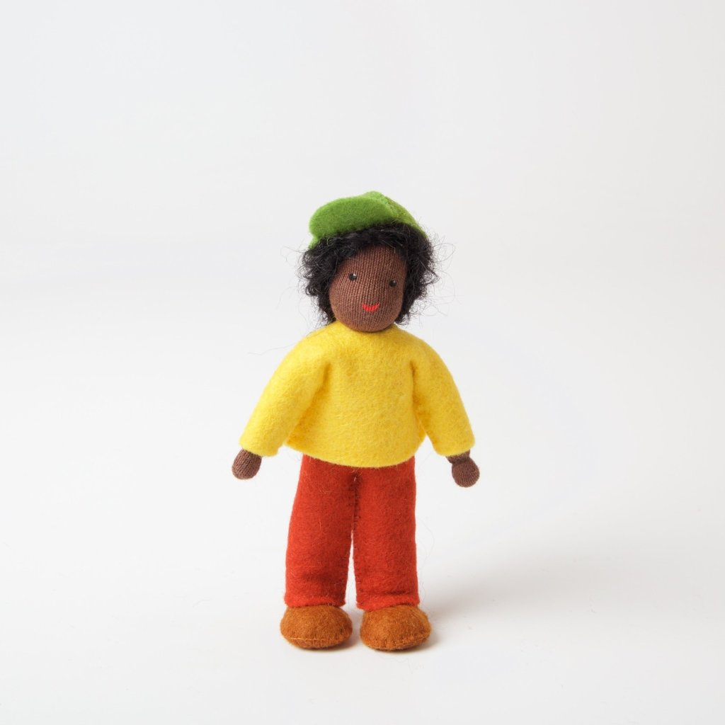 Dolls House | Boy With Dark Skin
