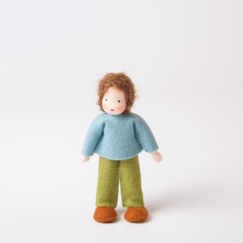 Dolls House | Boy With Brown Hair
