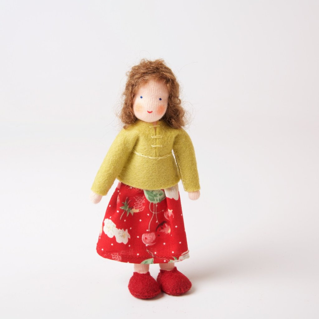 Dolls House | Mother With Brown Hair