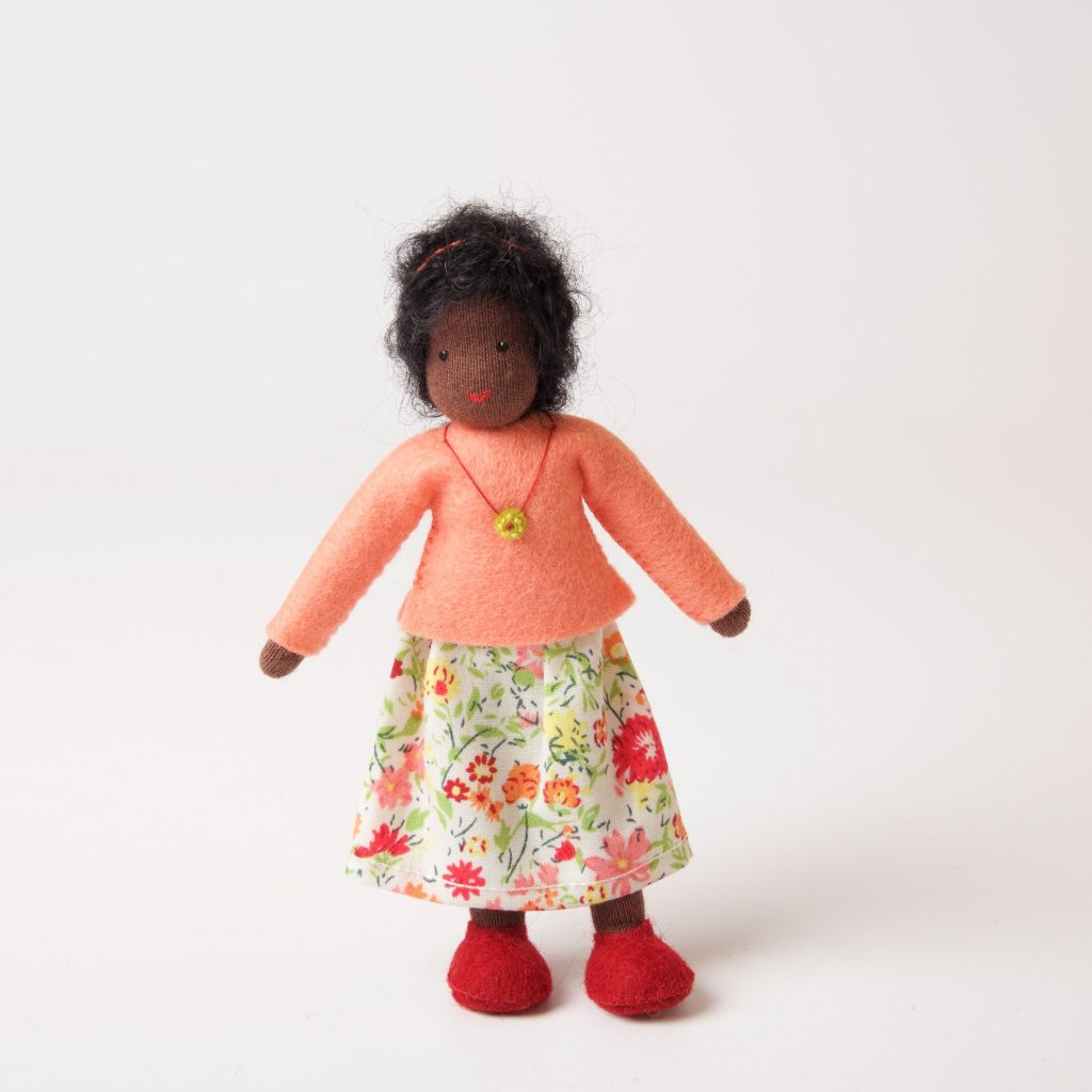Dolls House | Mother with Black Hair
