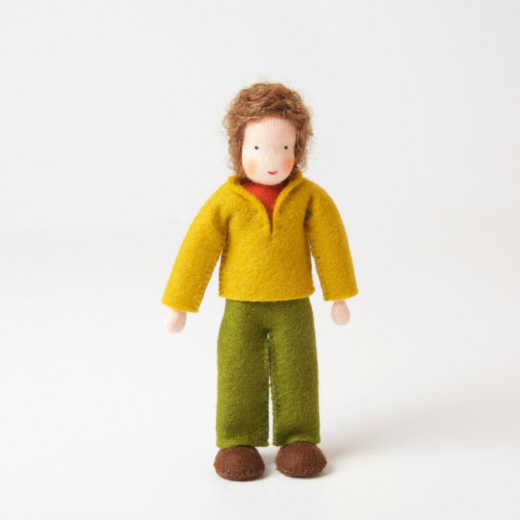 Doll House | Father With Brown Hair