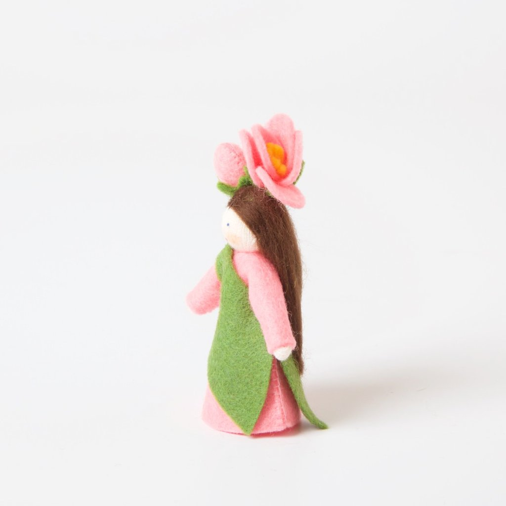 Flower Fairy with Flower on Head | Camellia Japonica
