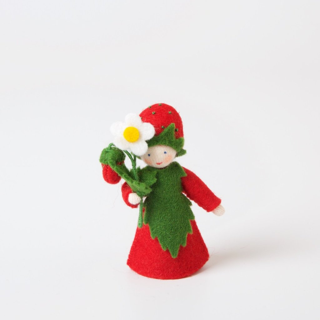 Flower Fairy with Flower in Hand | Strawberry