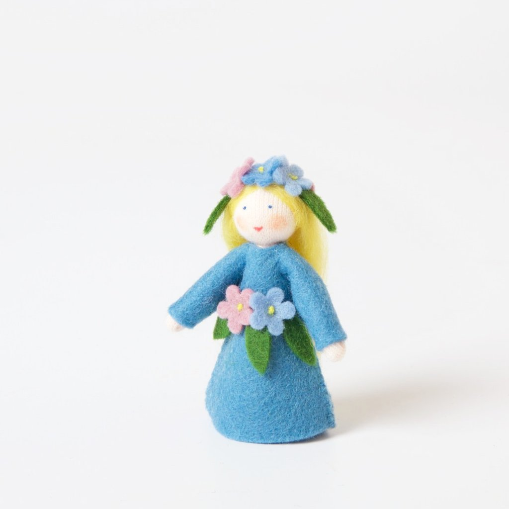 Flower Fairy with Flower on Head | Forget-Me-Not