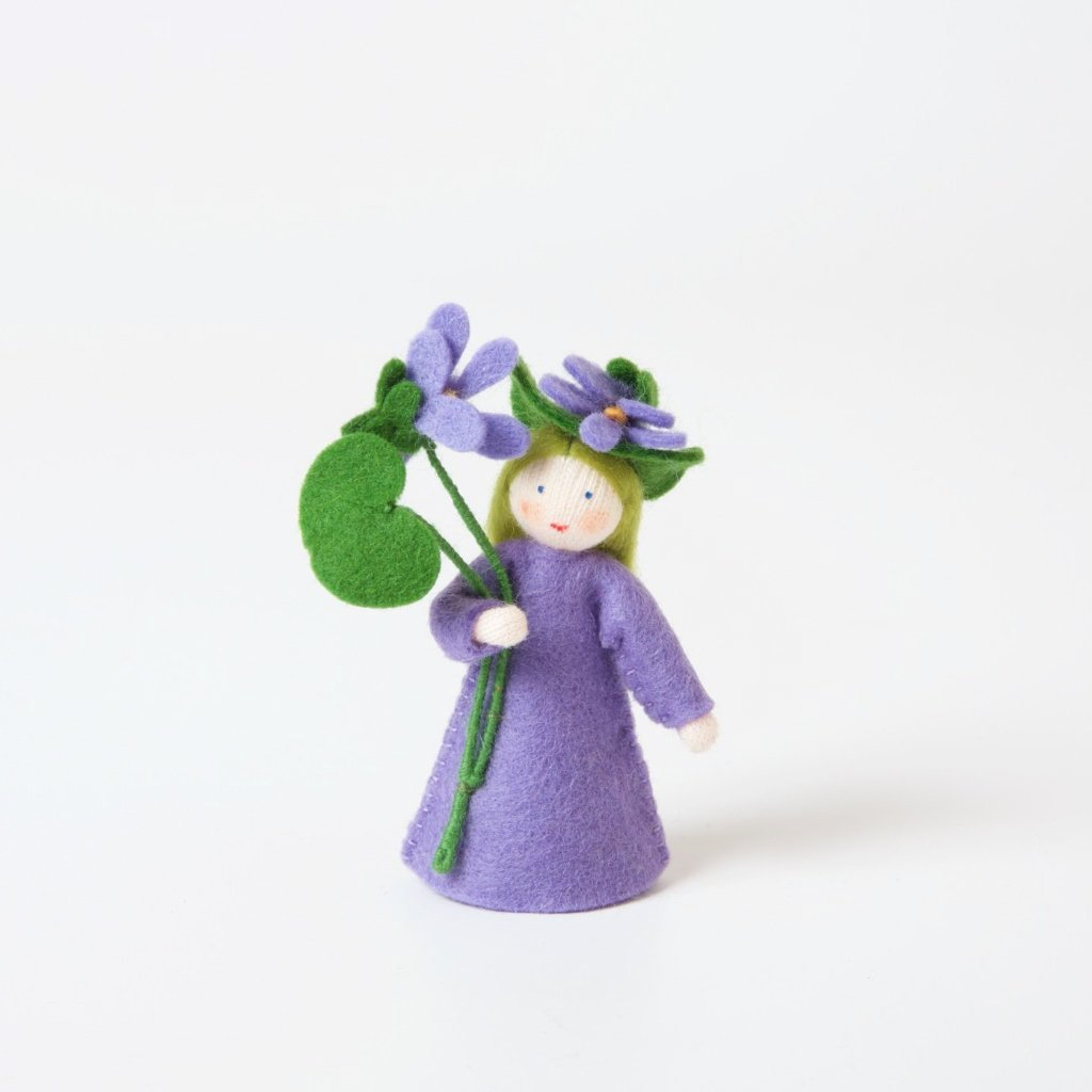 Flower Fairy with Flower in Hand | Violet