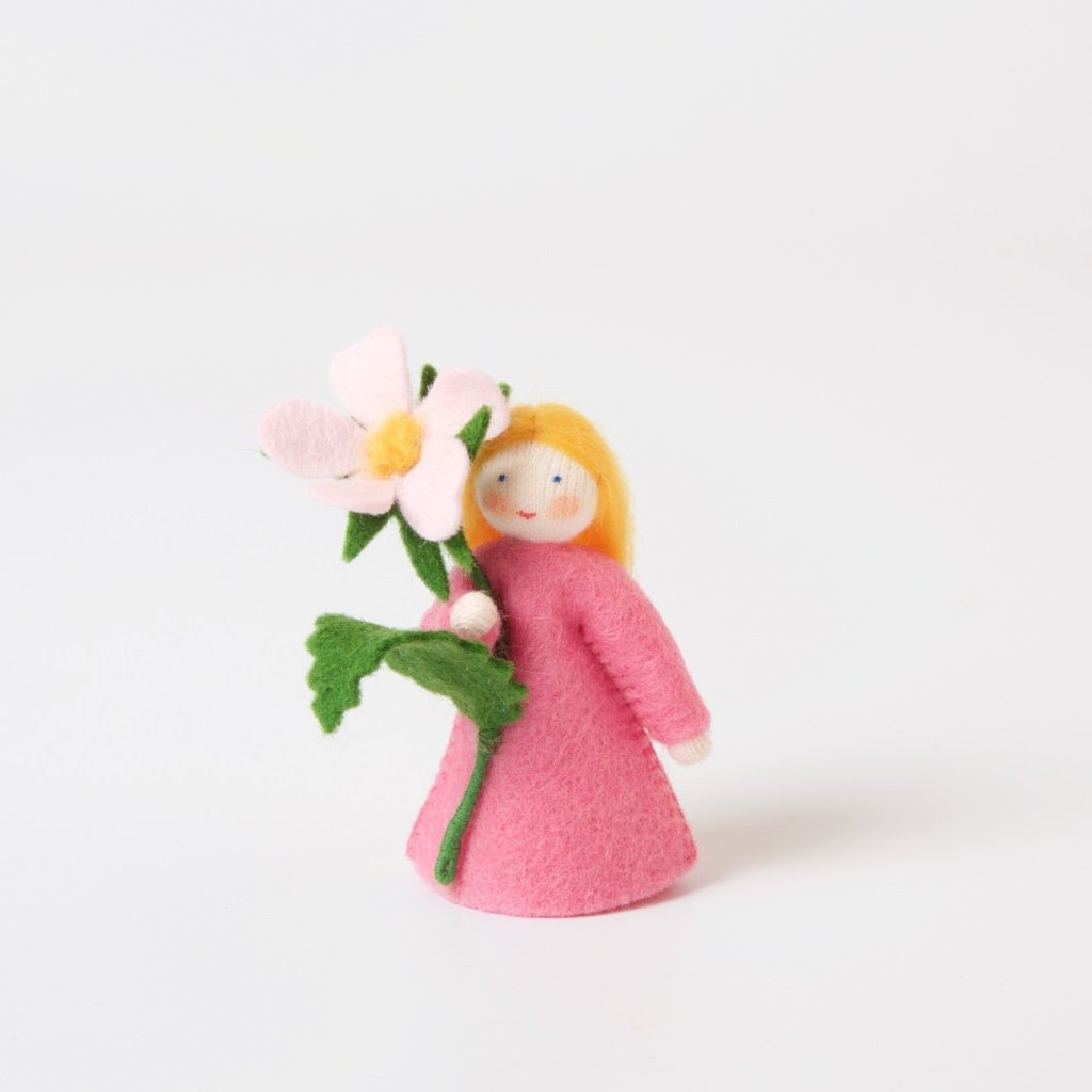 Flower Fairy with Flower in Hand | Sweet Briar