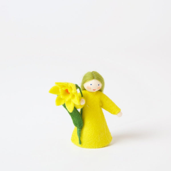 Daffodil Flower Fairy Flower In Hand | Ambrosius | Conscious Craft