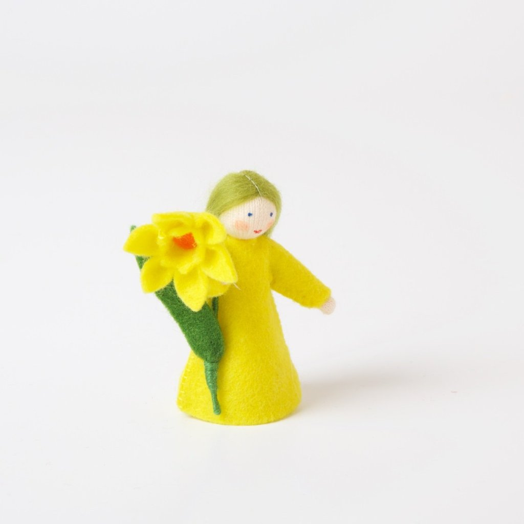 Flower Fairy with Flower in Hand | Daffodil